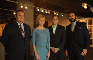 Dr. Mehmet Dicle, Dr. Kendra Reed, Dr. John Levendis, and Dr. Daniel D'Amico
